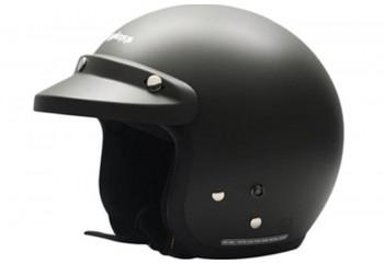 CARGLOSS CF Retro Army Black Doff  Helm Half-face