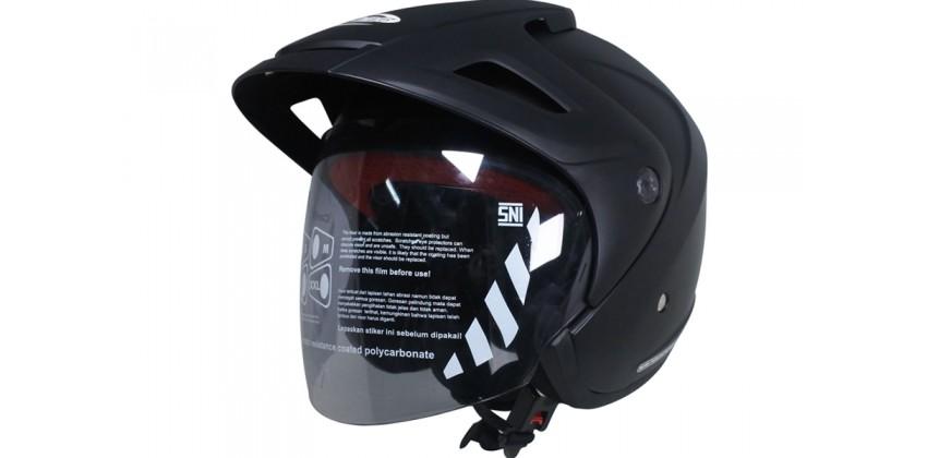 Cargloss CX Deep Black SG Doff  Helm Half-face Half-face 0