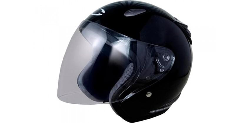 Cargloss YCN New Oackley Deep Black  Helm Half-face Half-face 0