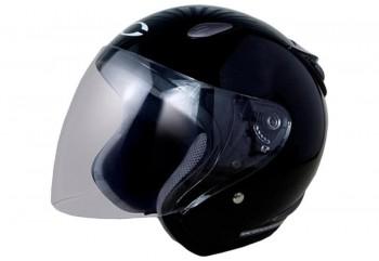 CARGLOSS YCN New Oackley Deep Black  Helm Half-face