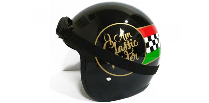 THI Helmet THI Helmet  Helm Retro 0