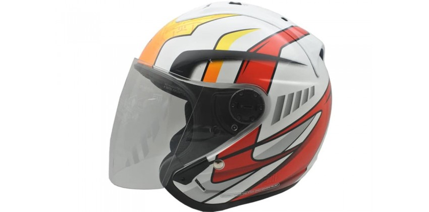 Cargloss Devil Of Former Horn Super Speed  Helm Half-face 0