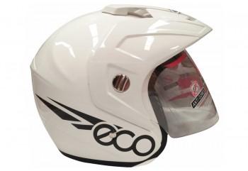 GP Helmet Eco Helm Half Face Putih