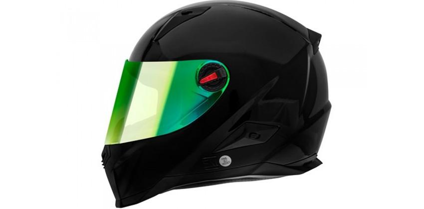 FFS1 Full-face Black Glosy Revo Green 0