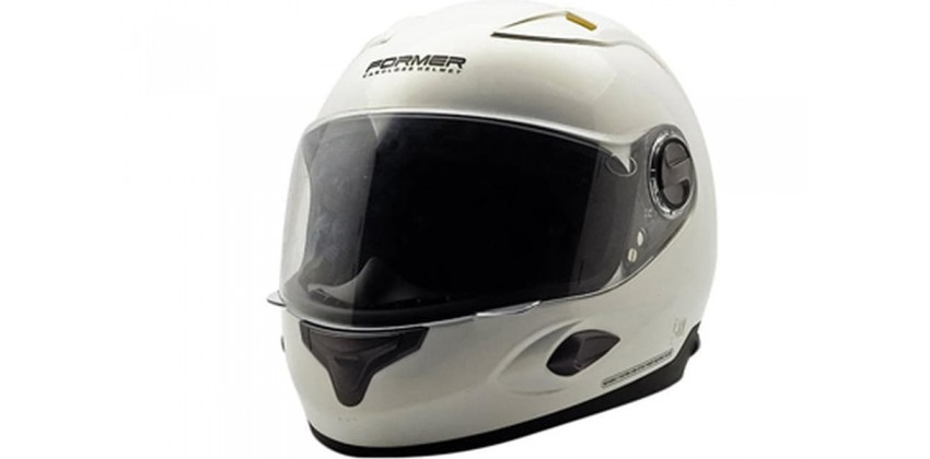 Cargloss Former Super Vent A White Gold Pear  Helm Full-face 0