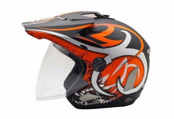 Cargloss Former Tribal Art  Helm Half-face