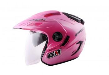 GM Startech - Solid Pink Cute Half-face