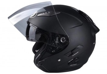 KYT Galaxy Slide Helm Half Face Hitam