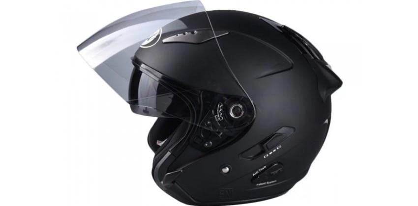 Galaxy Slide Helm Half Face - Black Half-face 0