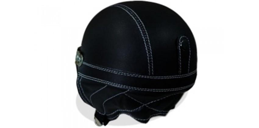 Helm Anak Model Chip Allsize Untuk Usia 1-4 Tahun Motif PolosHitamHalf-face 0