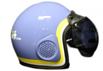 Helm Moladin MLD#03 Retro Half Face