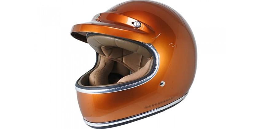 Howard Smith Cafe Racer Brilliant Orange Full-face 0