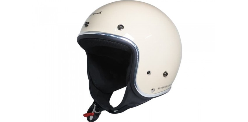Cargloss Howard Smith List Chrome Avorio Naide  Helm Retro 0