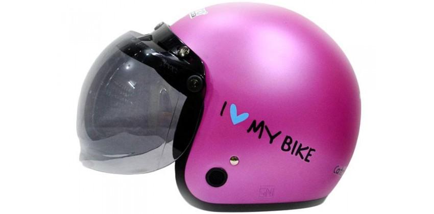 IGLOO Helm Love Bike Retro Pink 0