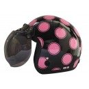 IGLOO Helm Moon Retro Black Pink 0