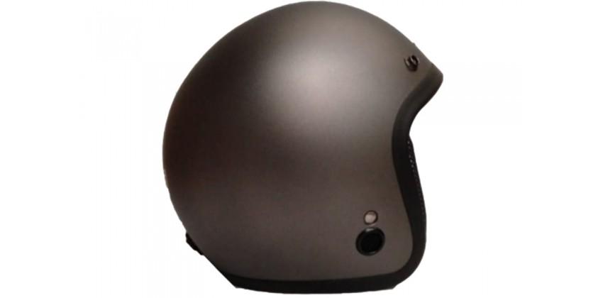IGLOO Helm Retro Solid Gunmete Doff Retro 0