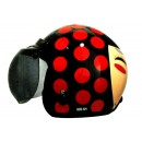 IGLOO Josei Dot Retro Black Red 0