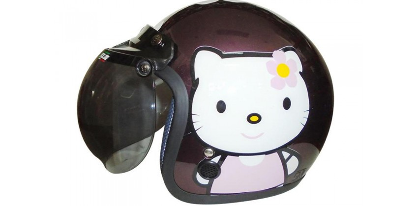 IGLOO Kitty Cat Retro Purple Pink 0