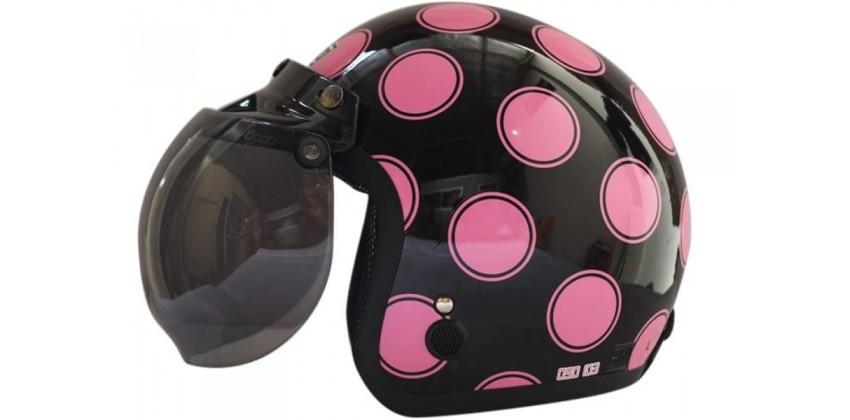 IGLOO Moon Retro Black Pink 0