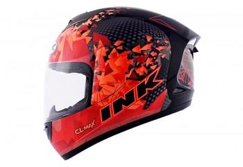 INK Helm CL MAX #6 Full Face - BK/RD FLUO