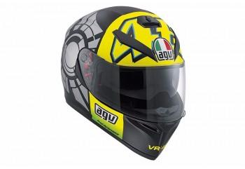 AGV K3 SV Top - Winter Test 2012 Helm Full Face Hitam