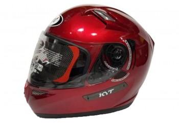 KYT Helm K2 Rider Solid  Full Face - Red Maroon