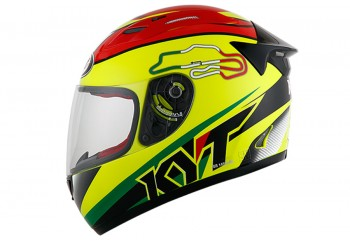 KYT Helm RC Seven #15 Italy Full Face -Yellow Fluo