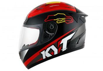 KYT Helm RC Seven #15 Spain Full Face - Black Full-face