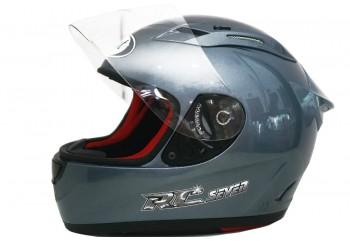 KYT Helm RC Seven Solid Full Face - Gunmetal
