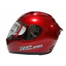 KYT Helm RC Seven Solid Full Face - Red Maroon 1