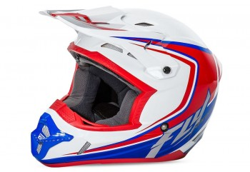 Kinetic Flex  Helm Cross Putih XXL