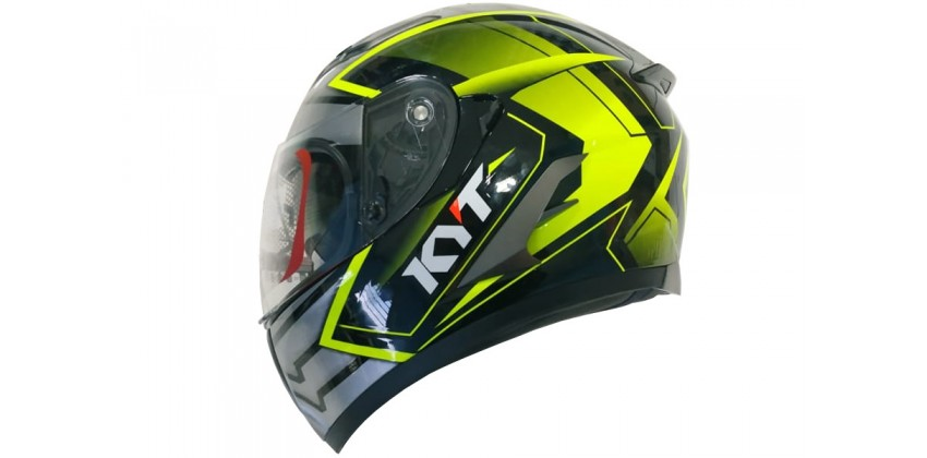 Kyt Falcon 2 Armour BK/YELL FLUO 0