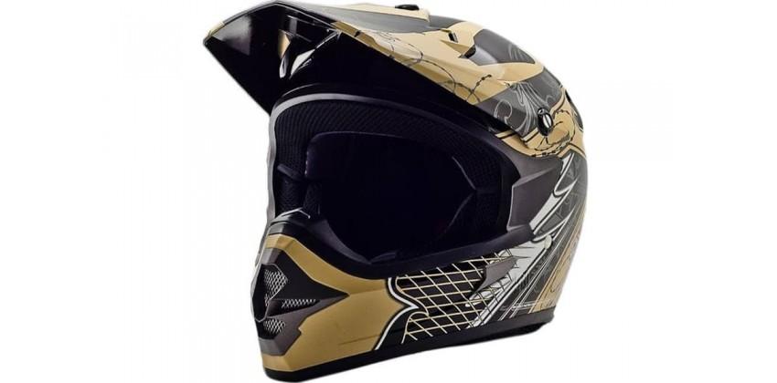 Cargloss MXC AJR Ice Brown Deep Black  Helm Cross 0