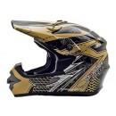 Cargloss MXC AJR Ice Brown Deep Black  Helm Cross 1