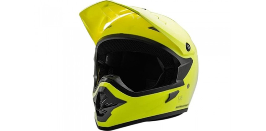 Cargloss MXC FZ Yellow  Helm Cross 0