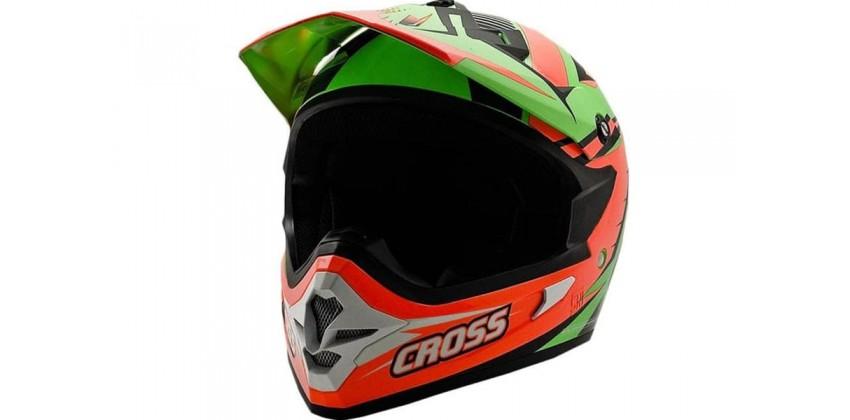 Cargloss MXC Orange Black FZ Green  Helm Cross 0