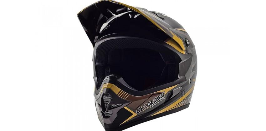 Cargloss MXC Supertrack Ice Brown Black Doff  Helm Cross 0