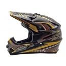 Cargloss MXC Supertrack Ice Brown Black Doff  Helm Cross 1