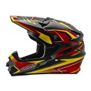 Cargloss MXC Supertrack Red Yellow Deep Black  Helm Cross 2