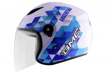 BMC Milan World Soccer  Helm Half-face