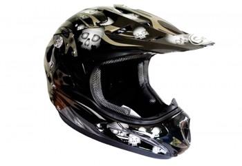 Snail Mx-309 Skull  Helm Full-face