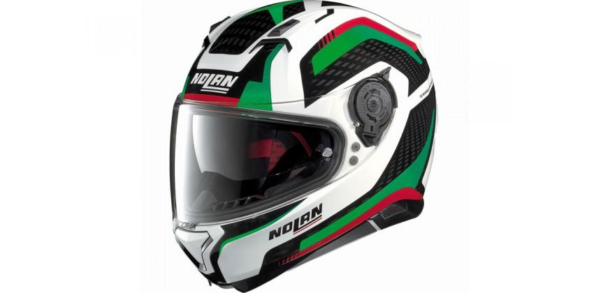 N87 Arkad N-com Full-face Green-red 0
