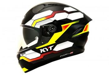 KYT NF-R Hexagon Helm Full Face Kuning