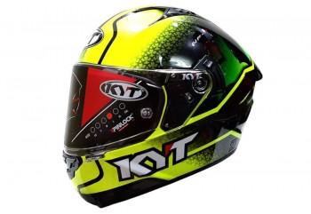 KYT NF-R Hyper Fluo Helm Full Face Kuning