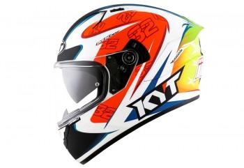 KYT NF-R ISAAC Vinales Helm Full Face Putih