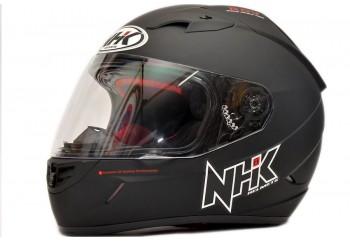 NHK GP1000 Solid - Black Doff Helm Full Face