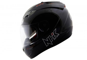 NHK GP1000 Solid - Black Helm Full Face