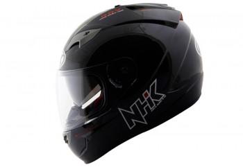NHK GP1000 solid Full Face Black