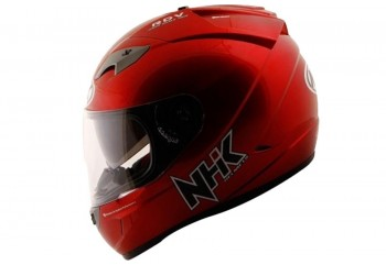 NHK GP1000 solid Full Face Royal Red