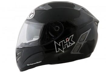 NHK Terminator 2V Solid - Black Helm Full Face